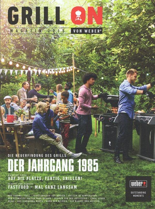 "Weber Grill   Magazin ""Grill On"" 2015  Editorial"